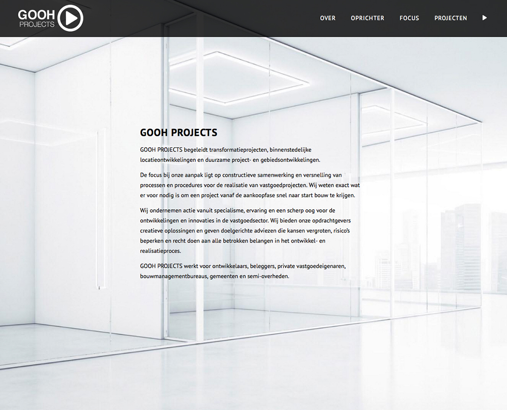 website goohprojects